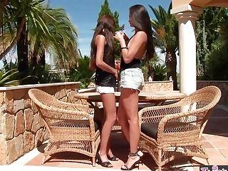 Twistys - Euro Foxes - Monicca Sandra Shine - Honeys Lovin Touchin Lickin