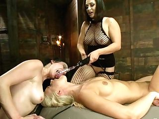 Veruca James & Anikka Albrite & Lea Lexis & Aiden Starr In All Starlet Live Electric Orgasm Competition - Electrosluts