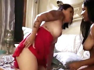 Asian Cougar And Black Teenage Female Go Lesbo2