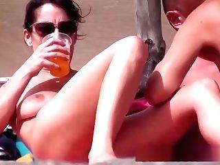 Smooch On The Beach Nude #four