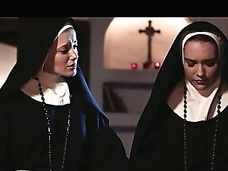 Horny Nun Kenna James Thirsts To Eat Raw Poon In The Evening