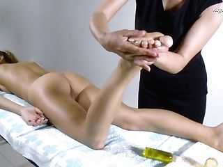 Lika Volosatik Supah Hot Russian Cherry Slit Massaged