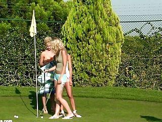 Orgasmic Golfers Voluptuous Girl/girl Scene By Sapphix