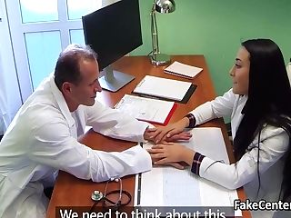 Sapphic Fuck With Nurse In Hospital