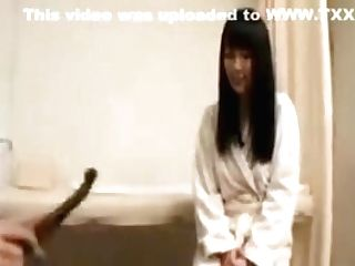 Sexy Slender Masseuse Introduces A Beautiful Dame To Hot Le