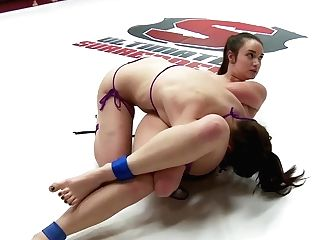 Juliette March Get Rough With A Youthfull Hot Rookie, Fuckfest Grappling Style - Publicdisgrace