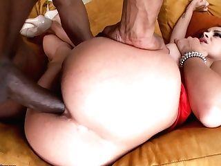 Interracial Rectal With Bubble Butt Liza Del Sierra