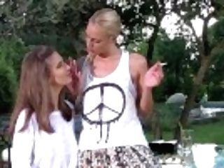 """""""girl-on-girl Cunt Fingerblasting Joy With Glamour Honeys Chelsey Lanette & Charlotta"""""""